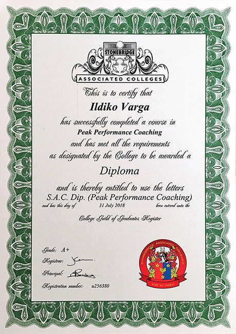 Peak Performance Coaching Diploma